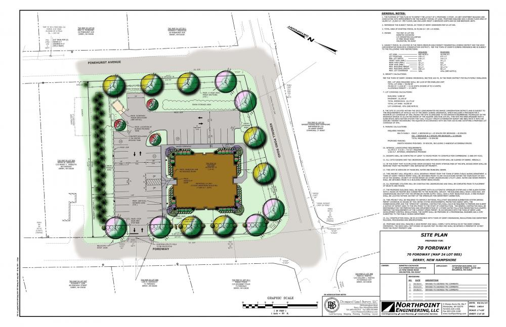 Derry Planning Board approves 70 Fordway Apartment Building