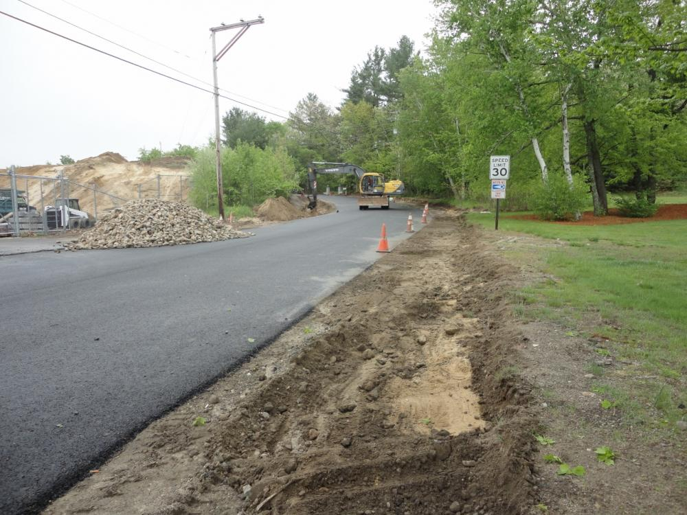 Roberts Road Drainage & Paving Improvements
