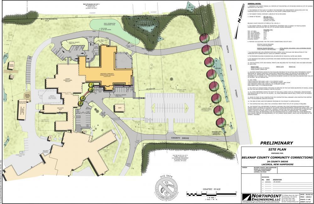 Belknap County Community Corrections Facility