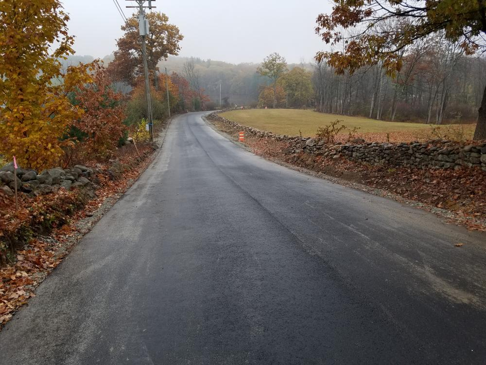 Mountain Road Reconstruction